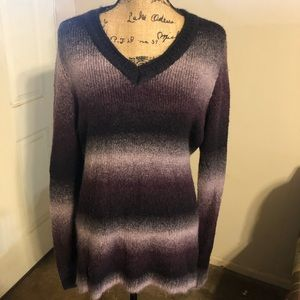 White Stag Purple Sweater XXL 20 Purple and black